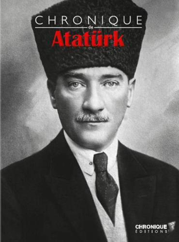 Chronique d'Atatürk kitap kapağı