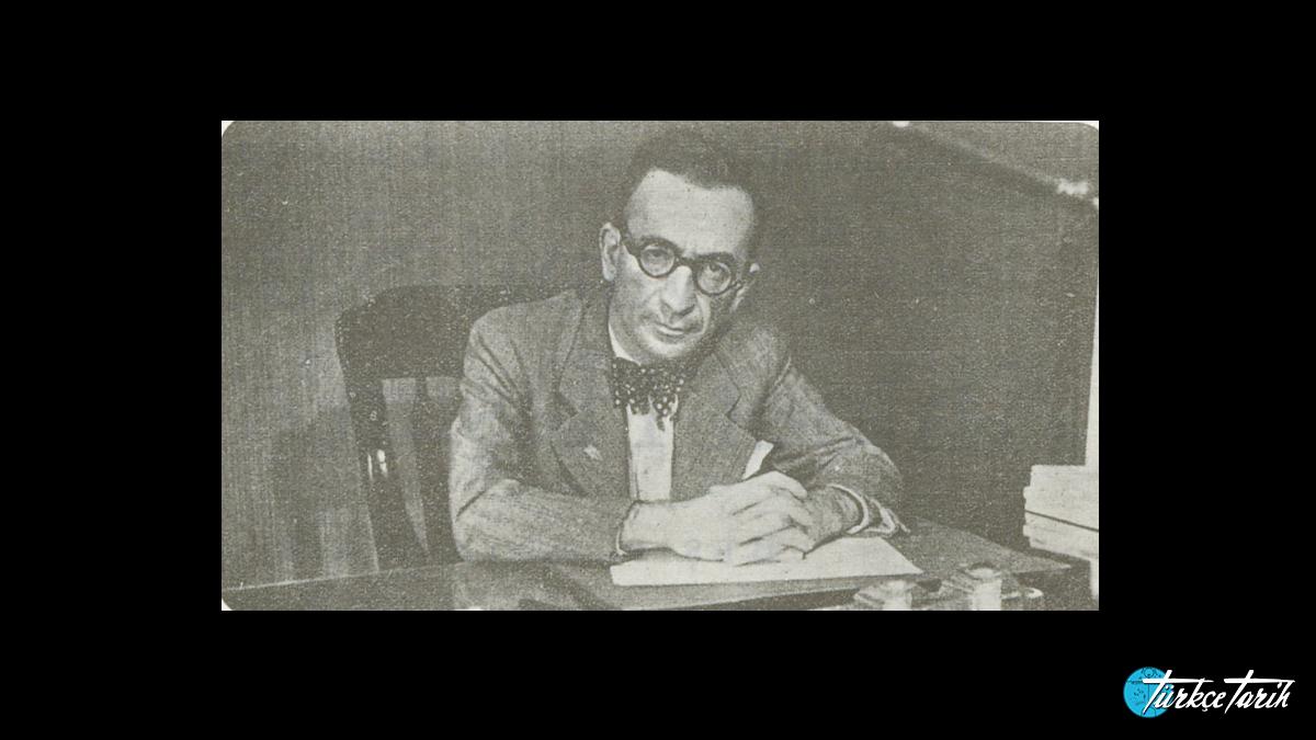 Peyami Safa Yedigün dergisinde çalışırken - Kaynak: Wikimedia Commons'tan Özgür medya deposu