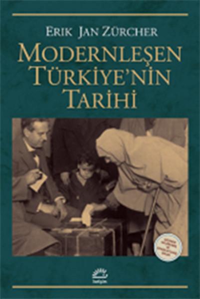 Modernleşen Türkiye'nin Tarihi kitap kapağı, Erik Jan Zürcher