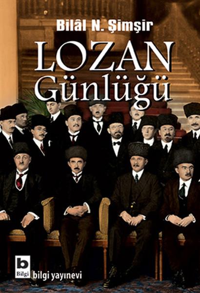 Lozan Günlüğü kitap kapağı, Bilal N. Şimşir