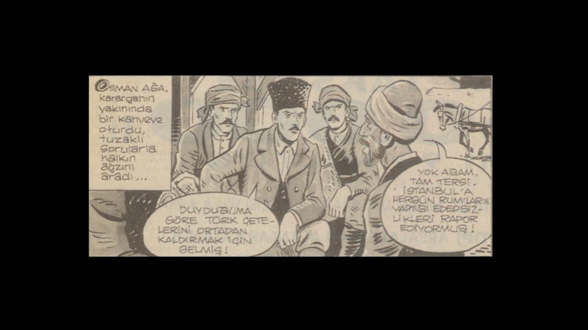 Atatürk'ün muhafızı:Topal Osman -  Suat Yalaz - Taha Toros Arşivi, Dosya No: 44-Çerkez Ethem - Kaynak: İstanbul Şehir Üniversitesi Arşivi