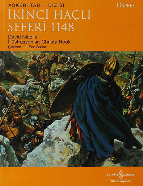 İkinci Haçlı Seferi 1148 kitap kapağı, David Nicolle