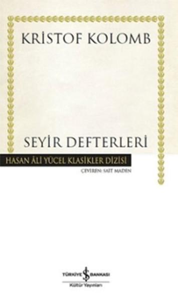Seyir Defterleri kitap kapağı, Kristof Kolomb