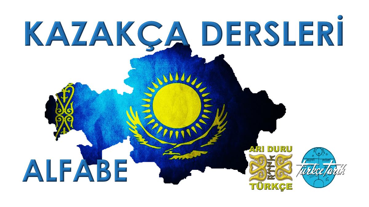 Kazakça Dersleri Alfabe