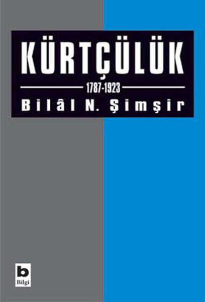Kürtçülük kitap kapağı, Bilal N. Şimşir