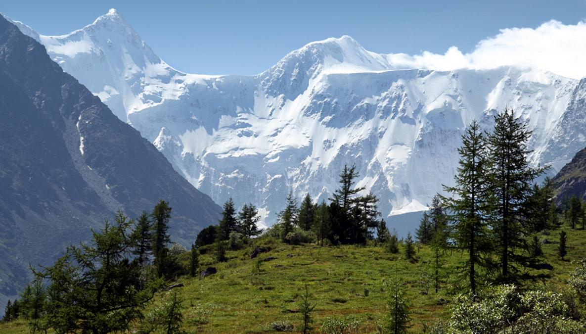 Altay mountains (Belukha), photo by Vít Hněvkovský, 2006 Pohoří Altaj (hora Bělucha) Kaynak: Wikimedia Commons'tan Özgür medya deposu