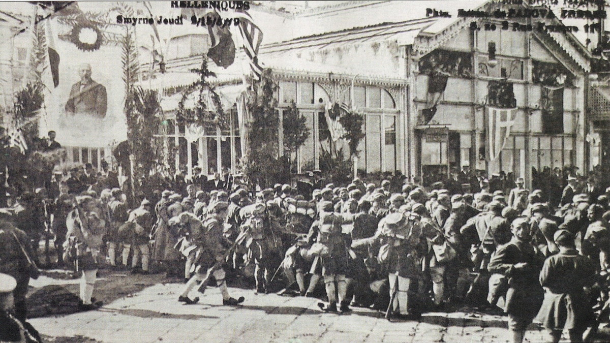 İzmir - 15 May 1919 - Kaynak: Wikimedia Commons'tan Özgür medya deposu