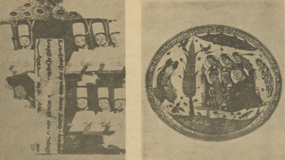 İslam minyatür sanatının doğmasında ve gelişmesinde Türklerin rolü, Oktay Aslanapa. Kaynak: İstanbul Şehir Üniversitesi Arşivi