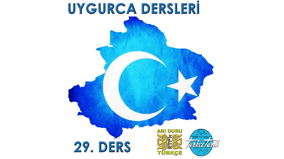 Uygur Türkçesi Öğreniyorum 29