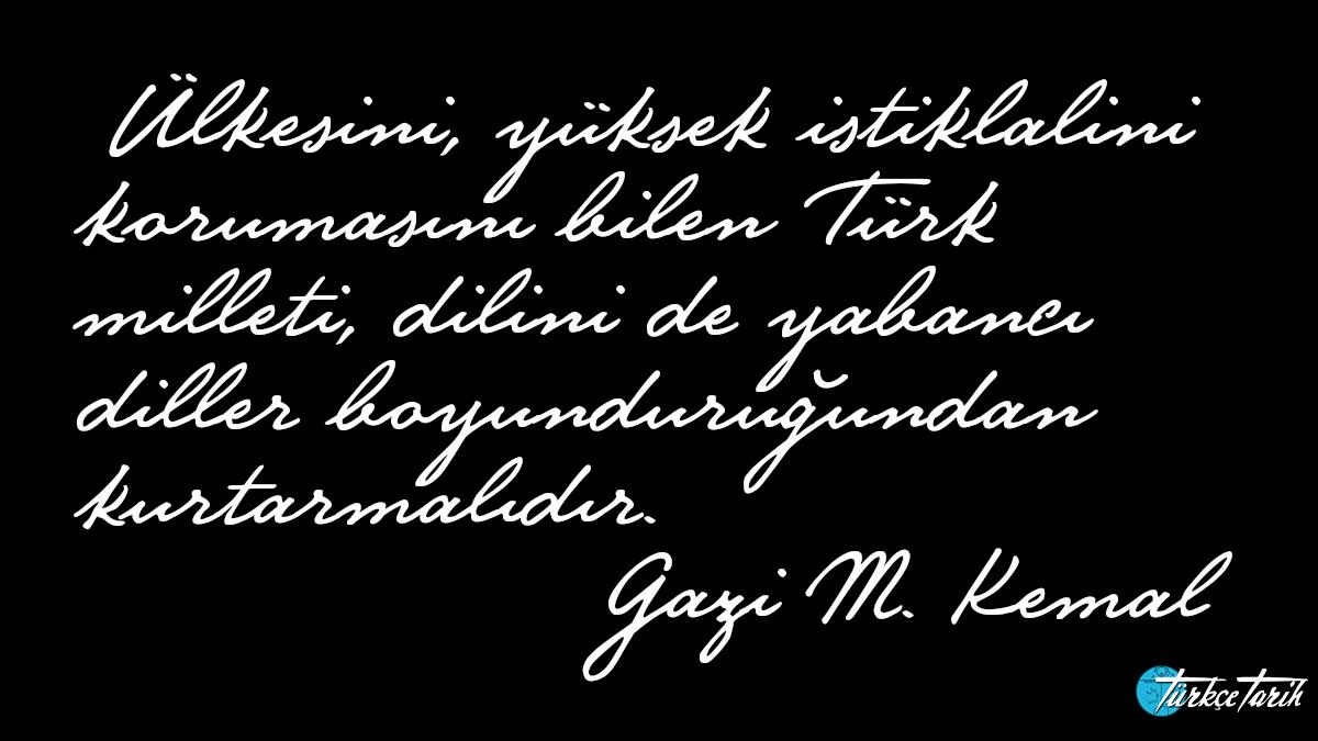 Türkçe - Atatürk
