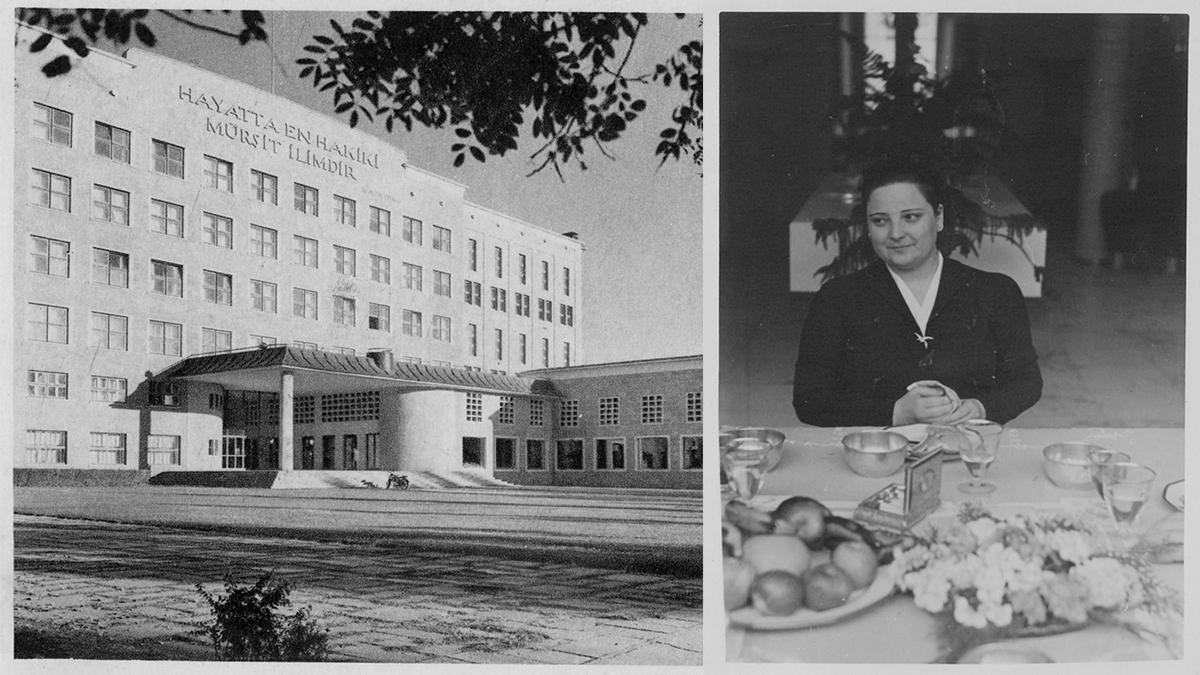 Afet İnan'a ait fotoğraf. Kaynak: İstanbul Şehir Üniversitesi Arşivi Ankara Dil ve Tarih Coğrafya Fakültesi. Kaynak: SALT Research