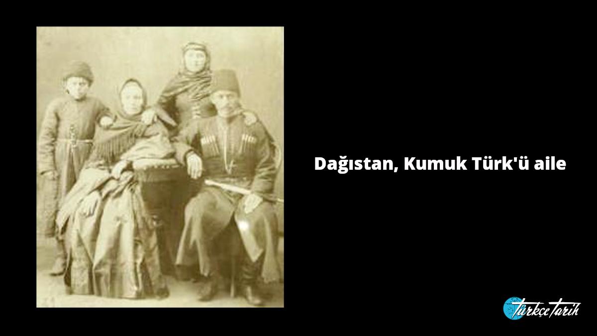 Dağıstan, Kumuk Türk'ü aile - Kaynak: Wikimedia Commons'tan Özgür medya deposu