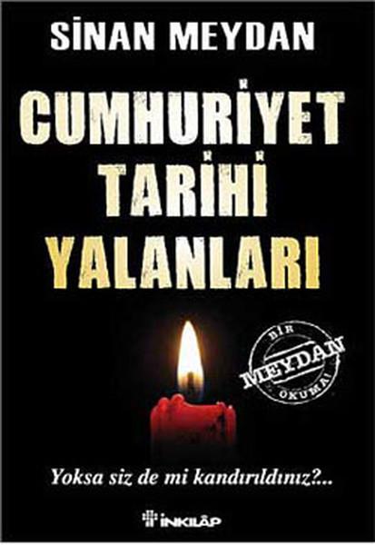 Cumhuriyet Tarihi Yalanları kitap kapağı, Sinan Meydan