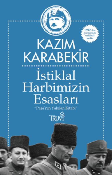 İstiklal Harbimizin Esasları kitap kapağı, Kazım Karabekir
