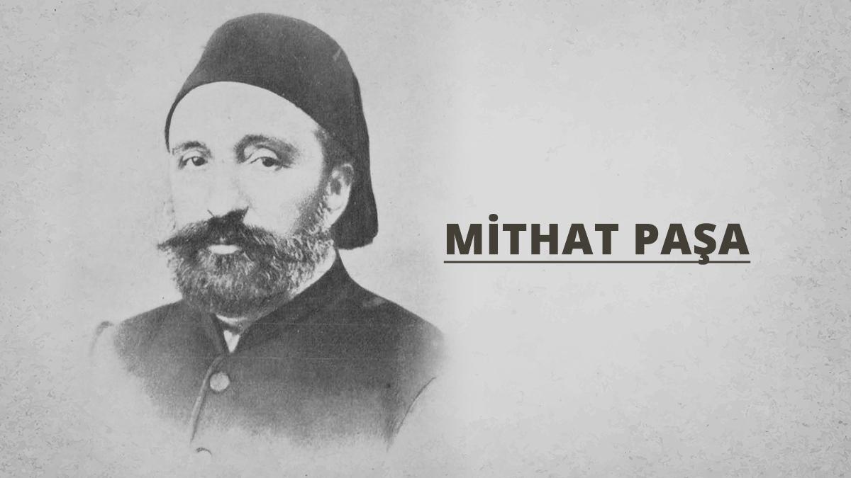 Mithat Paşa'ya ait fotoğraf. Kaynak: İstanbul Şehir Üniversitesi Arşivi