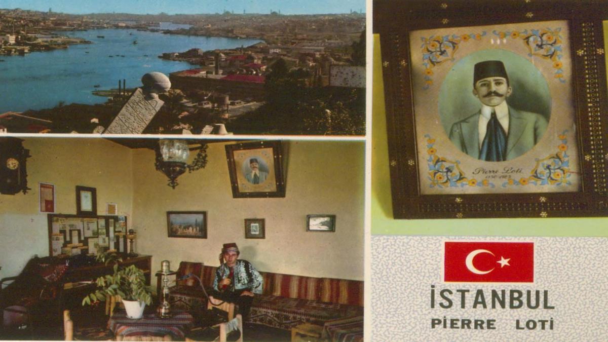 İstanbul ve güzellikleri:Pierre Loti, Haliç ve Pierre Loti Kahvesi Kaynak: İstanbul Şehir Üniversitesi Arşivi