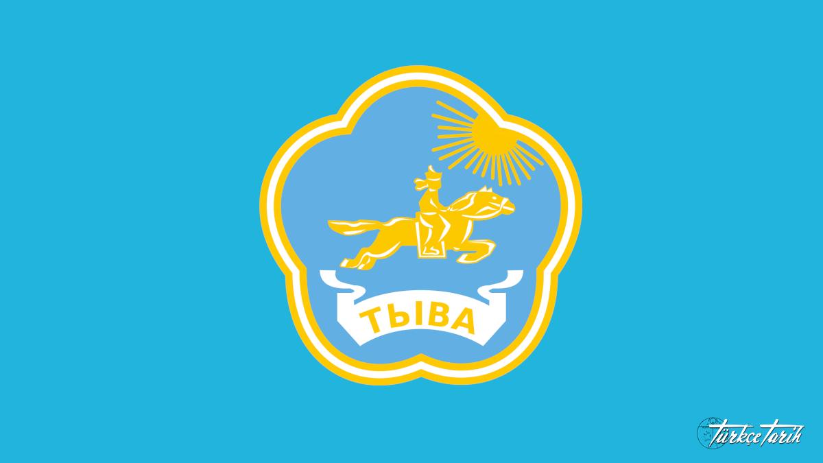 Tuva Cumhuriyeti arması -  Kaynak: Wikimedia Commons'tan Özgür medya deposu