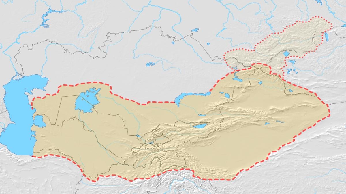 Turkestan. Kaynak: Wikimedia Commons'tan Özgür medya deposu