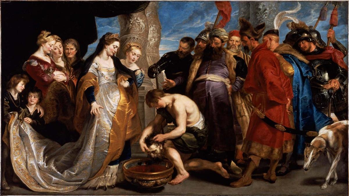 Peter Paul Rubensin çizdiği