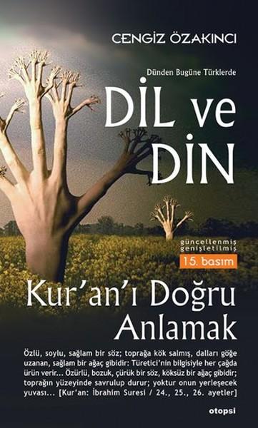 Dünden Bugüne Türklerde Dil ve Din kitap kapağı, Cengiz Özakıncı